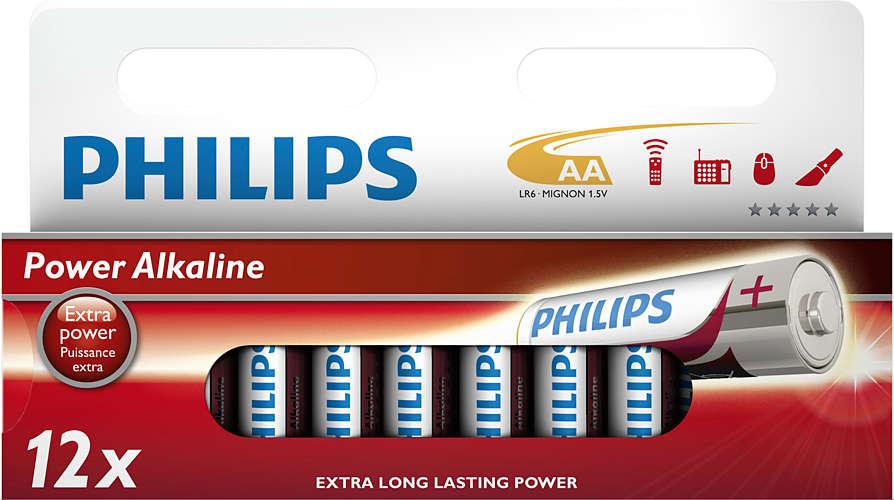 Philips baterie AA Power Alkaline - 12ks