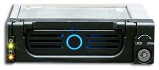 Icy Box Mobile Rack 5.25'' pro 3.5'' SATA HDD, černý