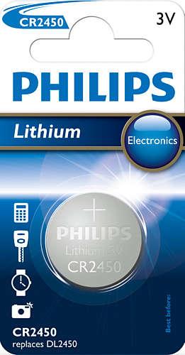 Philips baterie CR2450 - 1ks