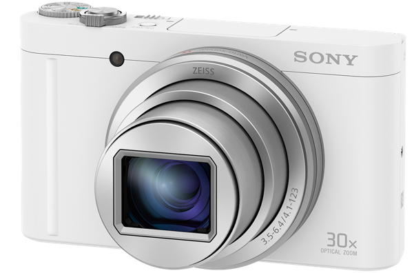 "SONY DSC-WX500 18,2 MP, 30x zoom, 3 "" LCD - WHITE"