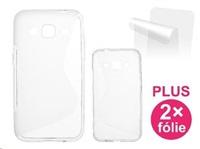 CONNECT IT pouzdro na telefon pro Samsung Galaxy Core Prime (SM-G360F), transparentní