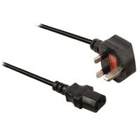 VÝPRODEJ - Vallueline napájecí UK kabel IEC-320-C13 1.8 m černý - VLEP11100B18M