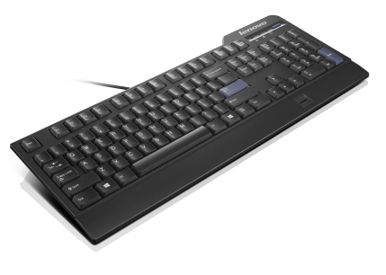 Lenovo klávesnice USB Black Preferred Pro Fingerprint -CZ