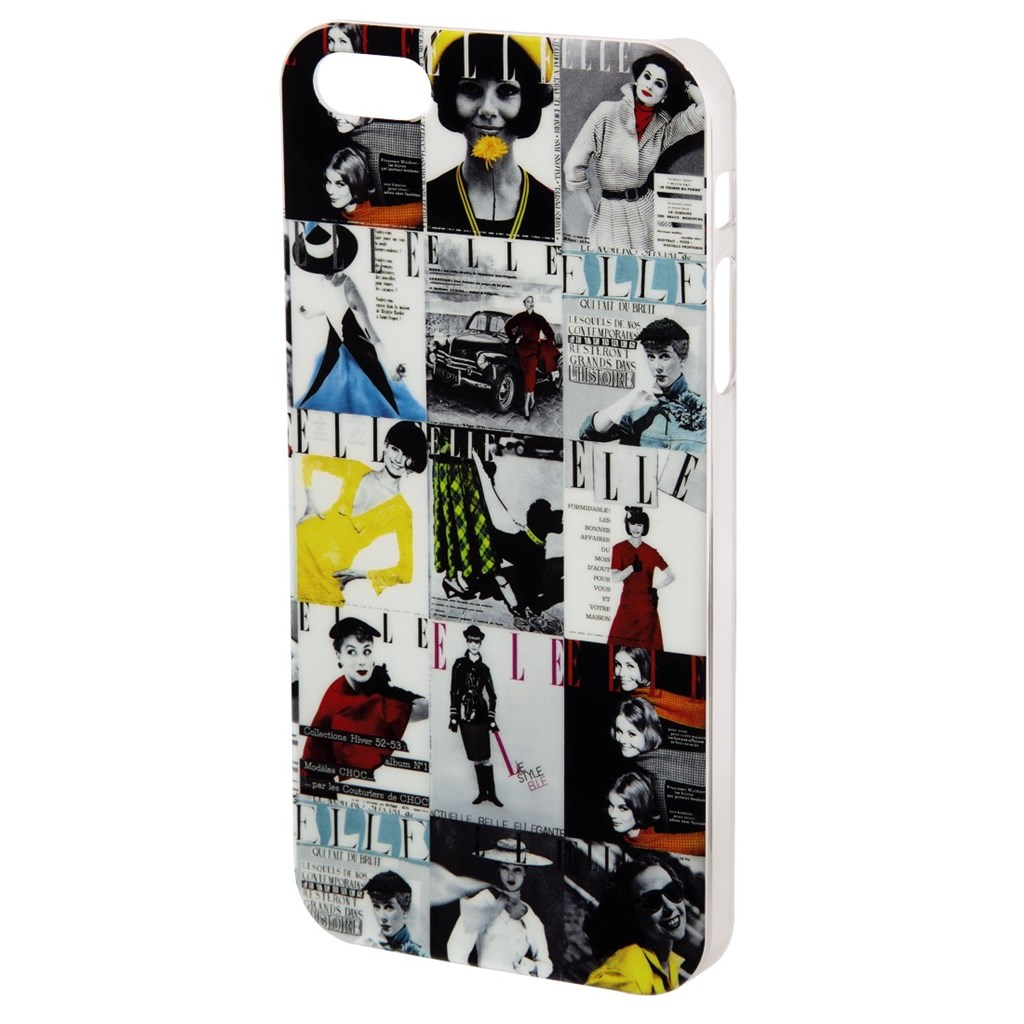ELLE Vintage Mobile Phone Cover for Apple iPhone 5/5s, black