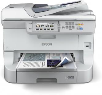 EPSON WorkForce Pro WF-8510DWF - A3+/34ppm/4ink/USB/LAN/WiFi/Duplex/ADF/Fax