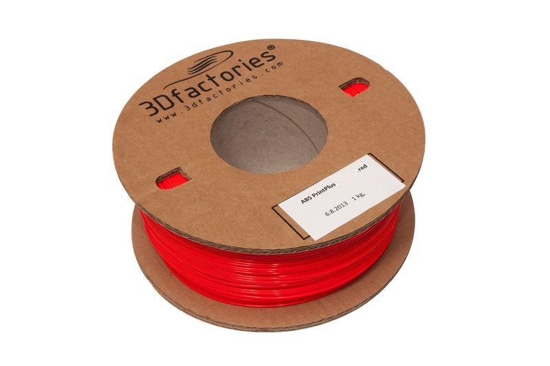 OEM tisková struna ABS červená 1,75mm 1Kg