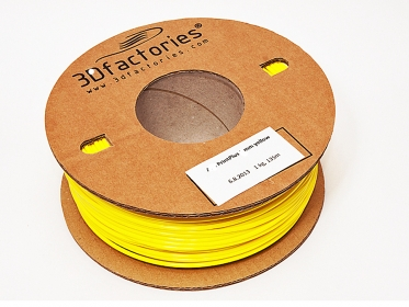 OEM tisková struna PLA žlutá 1,75 mm 1 Kg