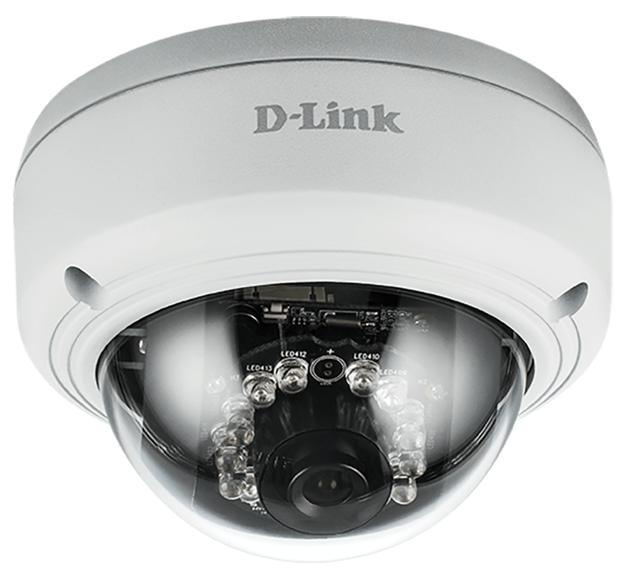 D-Link DCS-4602EV Full HD Outdoor Vandal Proof PoE Dome Camera
