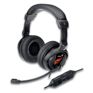 Genius headset - HS-G500V Gaming, s vibracemi