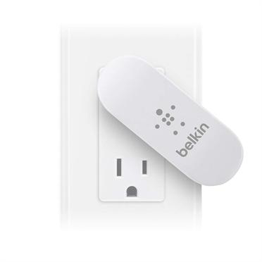 Belkin USB 230V nabíječka otočná, 5V/2x2.1A, bílá