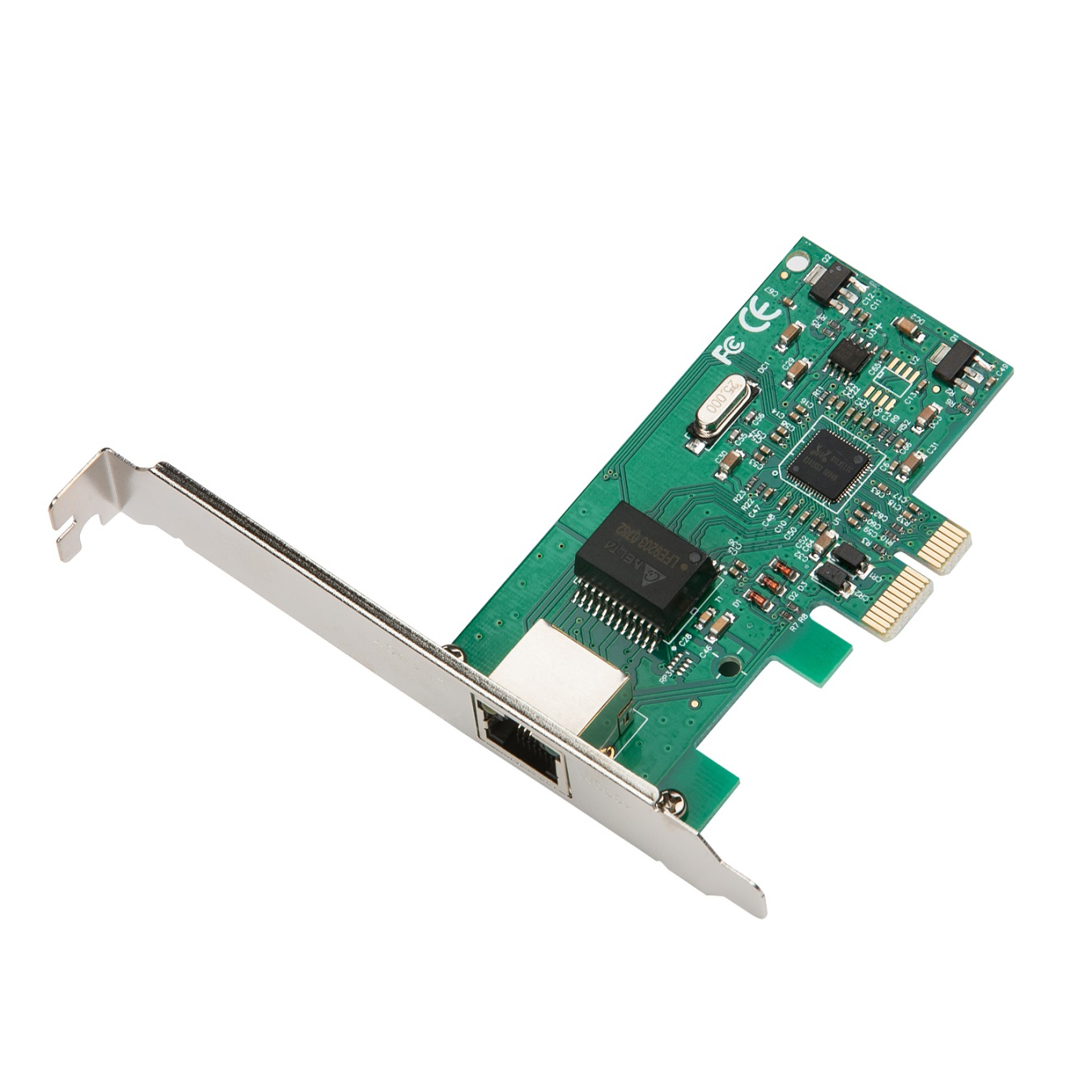 i-Tec PCIe Gigabit Ethernet Card 1000/100/10MBps, včetně Low Profile