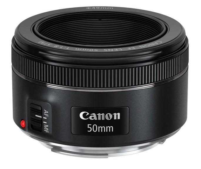 Canon objektiv s pev.ohniskem EF 50mm f/1.8 STM