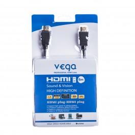 HDMI kabel profesionál 6M - černá barva