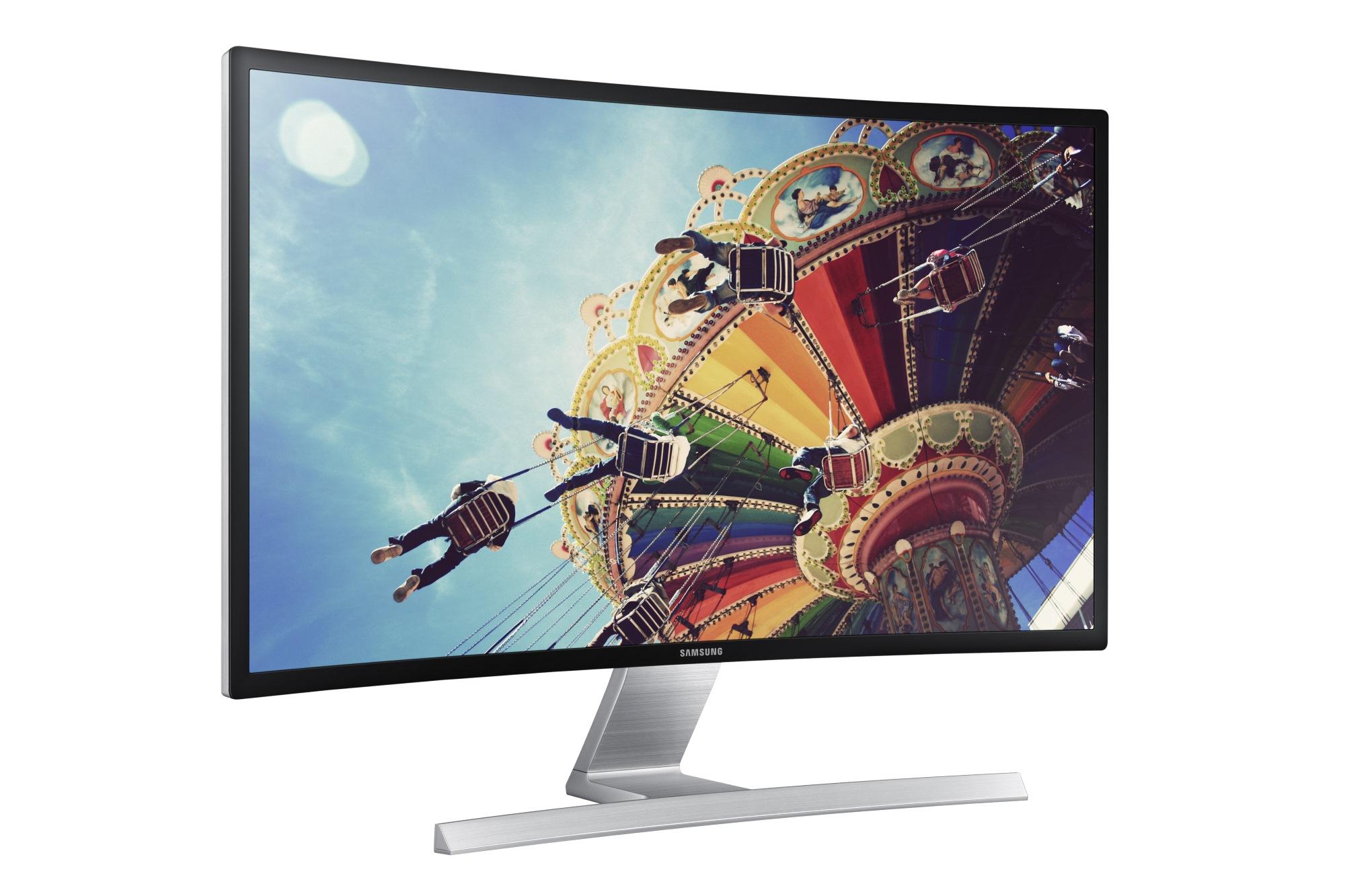 """Samsung 27"""" LCD T27D590C - prohnutý, HD tuner, VA/1920x1080/3000:1/5ms/D-SUB/2xHDMI/USB/SCART"""