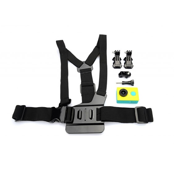 YI sport cam - Camera chest belt