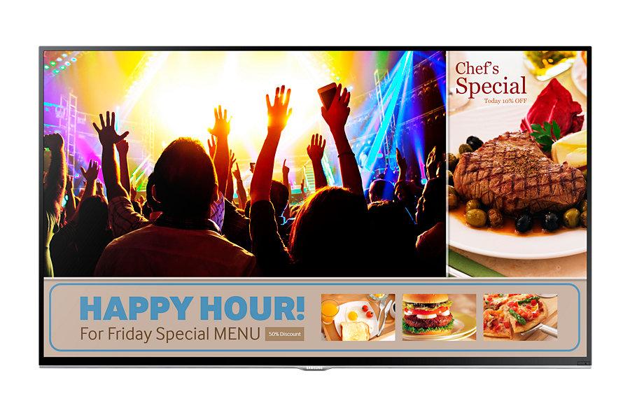 "SAMSUNG LH40RMDELGW/EN (SMART Signage TV) /40""/BLU LED/1920x1080/5000:1/8ms/(D-SUB,HDMI,repro,VESA)"