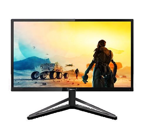 """Philips LCD herní 326M6VJRMB 31,5"""" MVA 4K/3840x2160@60Hz/80M:1/4ms/600 cd/m2/3xHDMI/DP/4xUSB 3.0/Repro"""