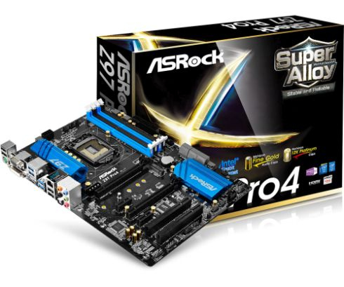 ASRock Z97 PRO4, 1150, Z97, 4xDDR3, 6xSATAIII, PCIe 3.0 x16, VGA/DVI-D/HDMI, 7.1CH, GLAN, 6xUSB 3.0, ATX