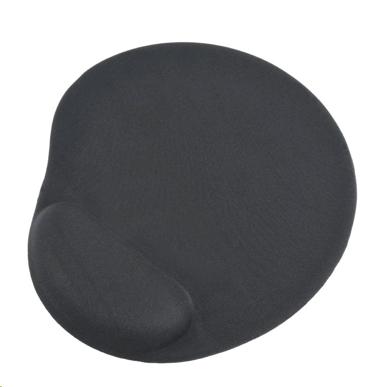 GEMBIRD Podložka pod myš ERGO gelová MAXI černá