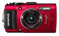 OLYMPUS TG-4 kompakt 16MPix, 4x zoom - červený