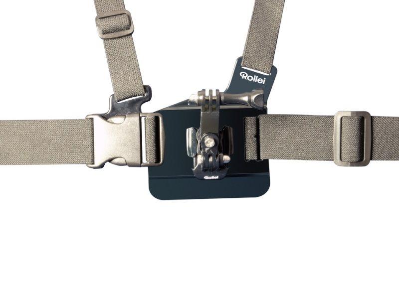 Rollei Chest Mount Hrudní držák pro kamery GoPro a Rollei 300/400/500 série
