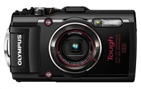 OLYMPUS TG-4 kompakt 16MPix, 4x zoom - černý