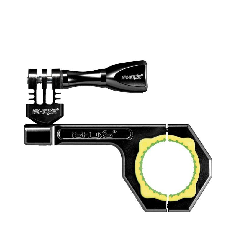 Rollei Bullbar 34 - Černý hliníkový držák na kolo pro kamery GoPro a Rollei, vhodné pro průměry 30-34 mm