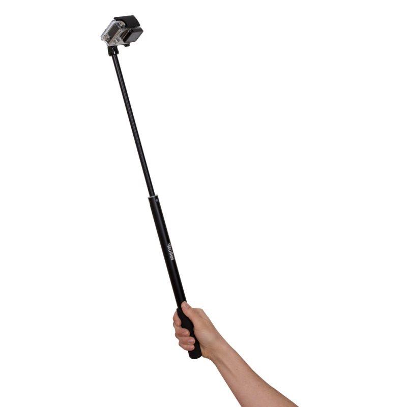 Rollei Telescopic S Teleskopický držák, délka až 58,5 cm pro kamery GoPro a Rollei 300/400/500 série
