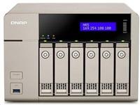QNAP TVS-663-4G (2.4GHz, 4GB RAM, 2x HDMI, 2x LAN, 6x SATA)