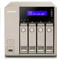 QNAP TVS-463-4G (2.4GHz, 4GB RAM, 2x HDMI, 2x LAN, 4x SATA)