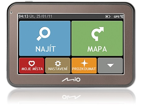 MIO Spirit 5400 mapy Lifetime CZ/SK - obsahuje mapy ČR + SK