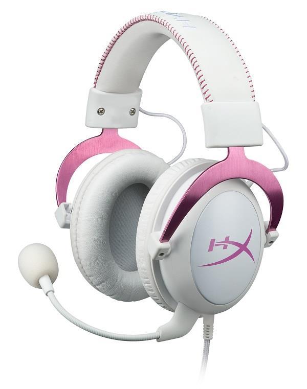 HyperX Cloud II - Pro Gaming Headset (Pink) - růžový