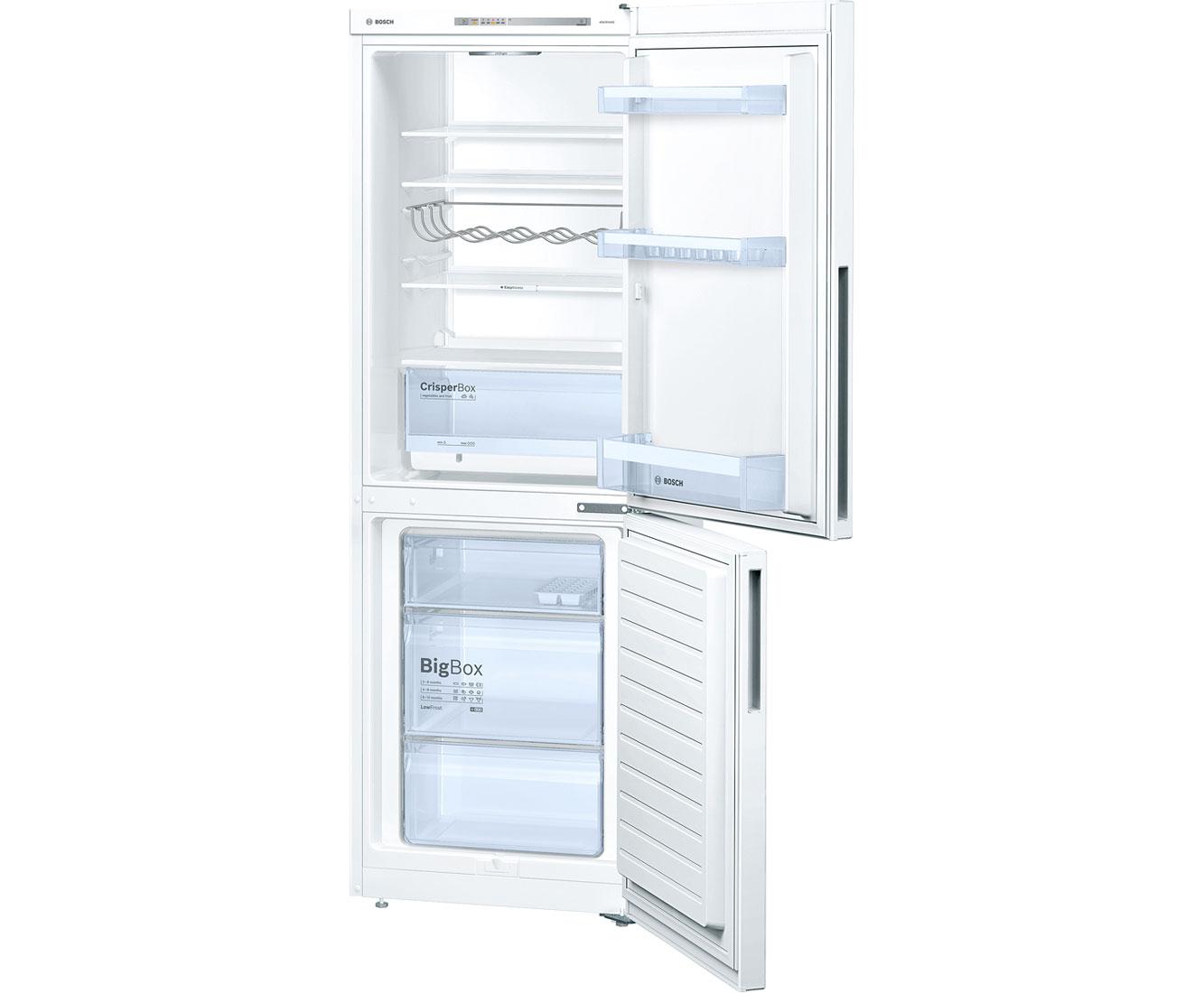 Kombinovaná chladnička Bosch KGV33VW31, A++, bílá