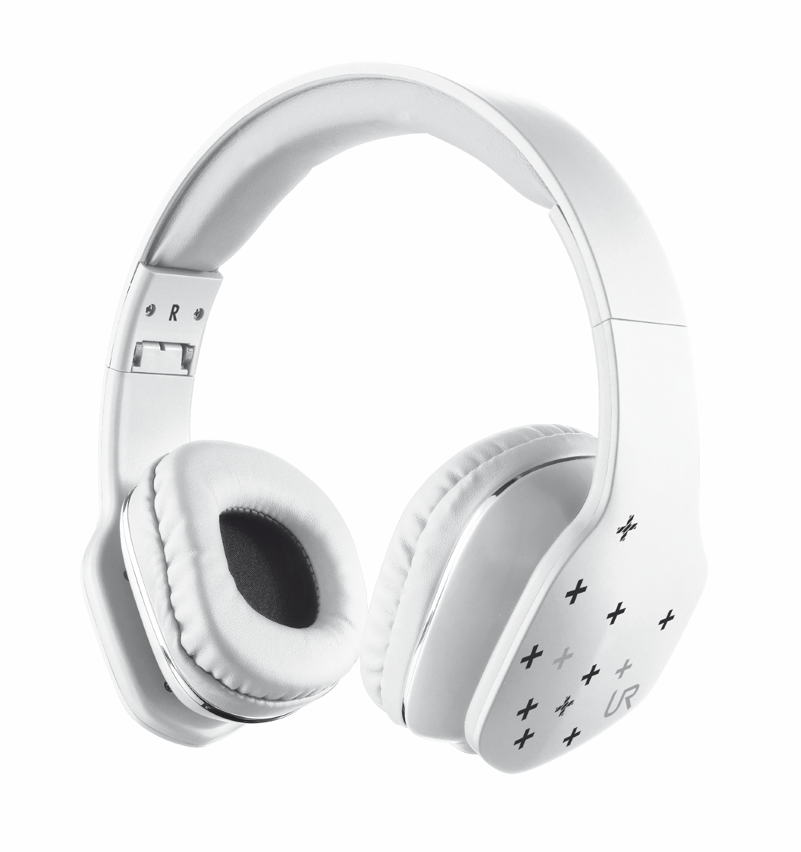 náhlavní sada TRUST Urban Mobi Headphone - white
