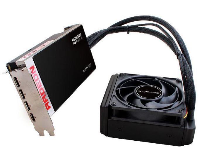 Sapphire Radeon R9 FURY X, 4GB HBM (4096 Bit), HDMI, 3xDP, FULL
