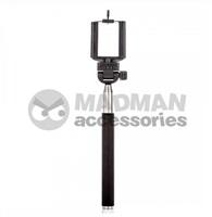 MadMan Selfie tyč ACTIVE 110 cm černá (monopod)