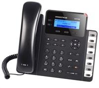 Grandstream GXP1628 [VoIP telefon - 2x SIP účet, HD audio, 3 prog.tl.+8 předvoleb, switch 2xLAN 1000Mbps, PoE]