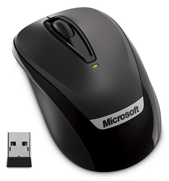 Microsoft Wireless Mobile Mouse 3000v2, černá