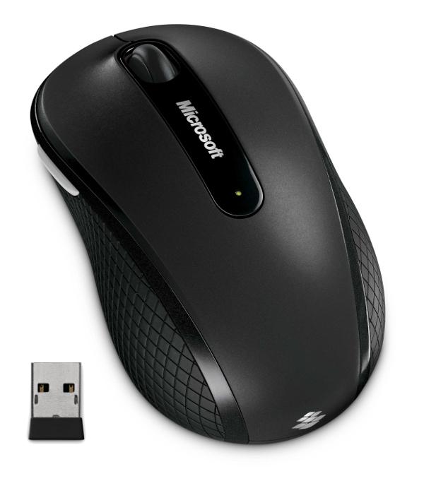 Microsoft Wireless Mobile Mouse 4000, černá