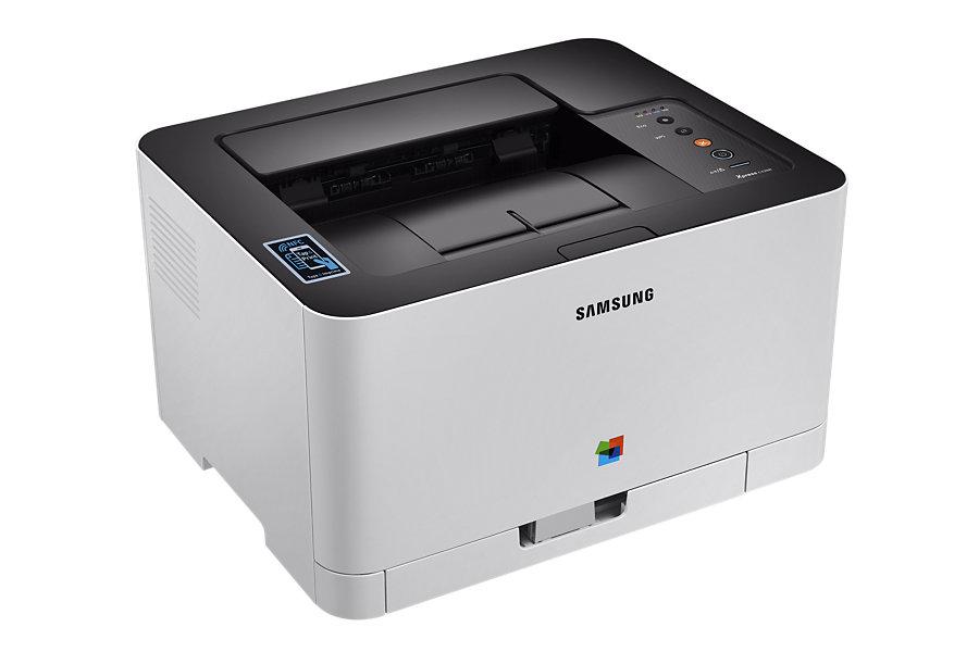 Samsung SL-C430W - A4, 18ppm, 2400x600dpi, 64MB, USB, Wifi, NFC