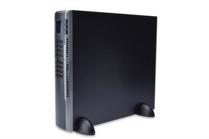 DIGITUS OnLine UPS, 3000VA/2700W, 12V/9Ah x6 battery, 6x IEC C13, 1x IEC C20, power factor 0.9, LCD display