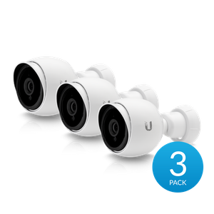 Ubiquiti UVC-G3-BULLET-3, UniFi Video Camera G3 Bullet, 3-pack