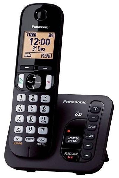 Panasonic KX-TGC220FXB bezdrátový telefon