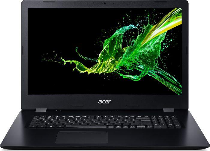 """Acer Aspire 3 (A317-51-316U) Core i3-8145U/4GB+4GB/256GB SSD/17.3""""matný/UHD Graphics 620/DVD-Writer DL/W10 Pro/Black"""