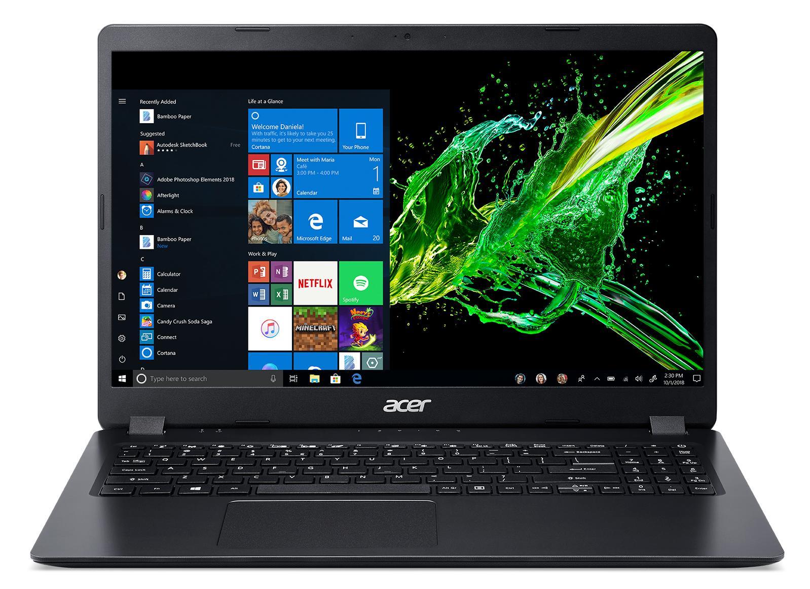 "Acer Aspire 3 (A315-42-R131) Ryzen 5 3500U/8GB/256GB SSD/15.6"" matný/Radeon Vega 8/W10 Home/Black"