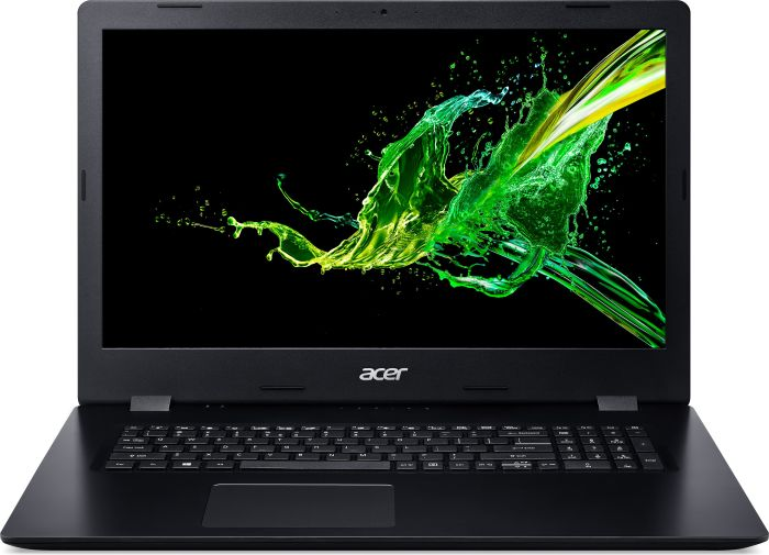 "Acer Aspire 3 (A317-51-39DX) Core i3-8145U/4GB/256GB SSD/17.3""matný/UHD Graphics620/DVD-Writer DL/W10 Home/Black"