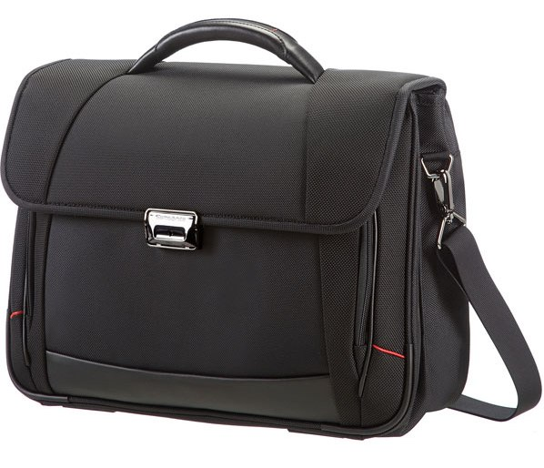 Samsonite Pro DLX4 Briefcase 2 Gussets 16´´ Black