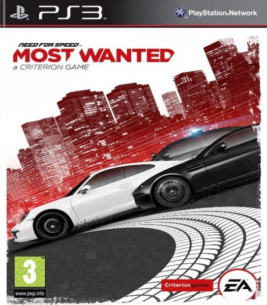 PS3 - Need for Speed Most Wanted (2012) Essentials