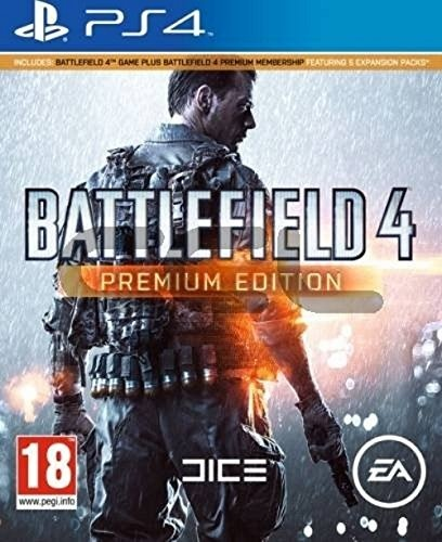 PS4 - Battlefield 4 Premium Edition