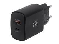 MANHATTAN USB nabíječka Power Delivery Wall Charger – 27 W, černá